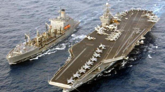 Rusia dan China Memanas, AS Aktifkan Armada Laut Era Perang Dingin