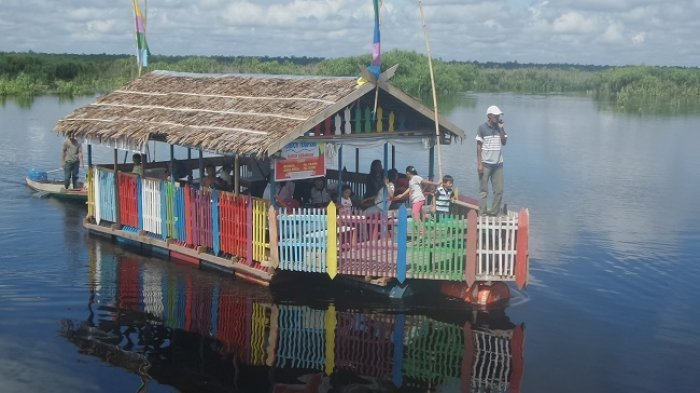 Berkah dari Wisata Air Hitam Sungai Sebangau, Warga Sekitar Dapat Tambahan Penghasilan