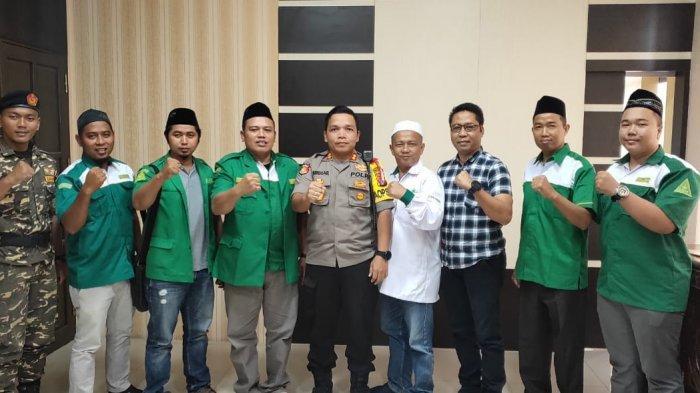 Kapolres Palangkaraya Harapkan Sinergi dengan Ormas Kepemudaan, Ini Kata Ketua PC GP Ansor