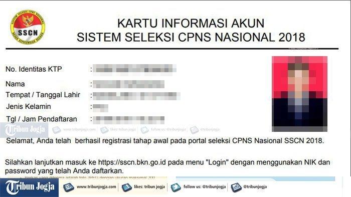 Masih Gagal Download Kartu Pendaftaran PNS 2018 di sscn.bkn.go.id? Pakai Cara Ini