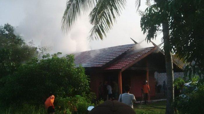Lagi, Kebakaran Rumah Terjadi Palangkaraya