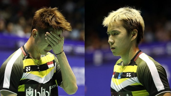 Gagal ke Final China Open 2018, Marcus-Kevin Harus Akui Keunggulan Han Chengkaizhou-Haodong