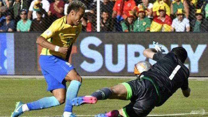 Luar Biasa! Kiper Bolivia Ini Mampu Mentahkan 13 Tembakan Jitu Pemain Brasil