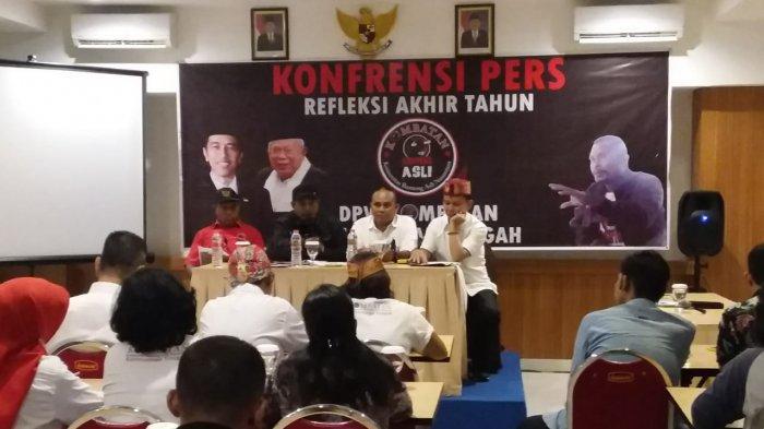 Kombatan Kalteng Targetkan Suara Jokowi-Ma'ruf Naik Sampai 20 Persen, Begini Strateginya