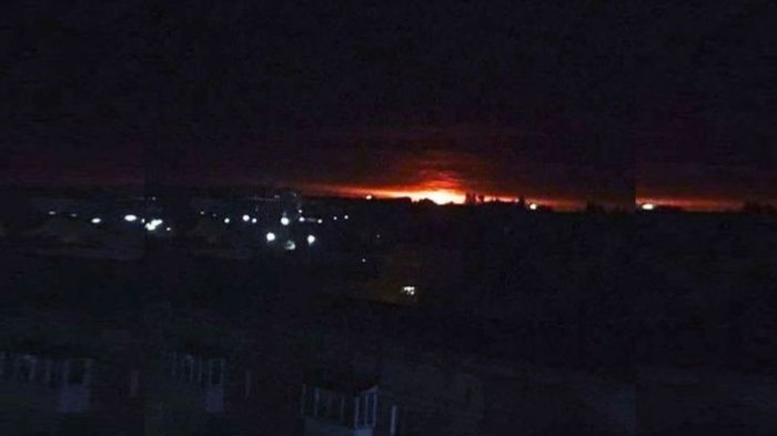 Ledakan Gudang Senjata di Ukraina, 10.000 Orang Dievakuasi
