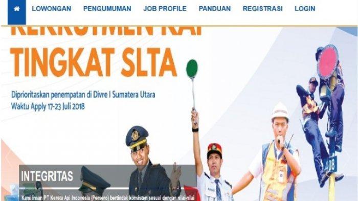 Lowongan Kerja di PT KAI, Ini Syarat dan Ketentuan Bagi Calon Pelamar, Dicari Lulusan SLTA!