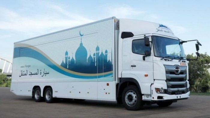 Kenalkan, 'Masjid Berjalan' Ini Dipersiapkan untuk Olimpiade 2020