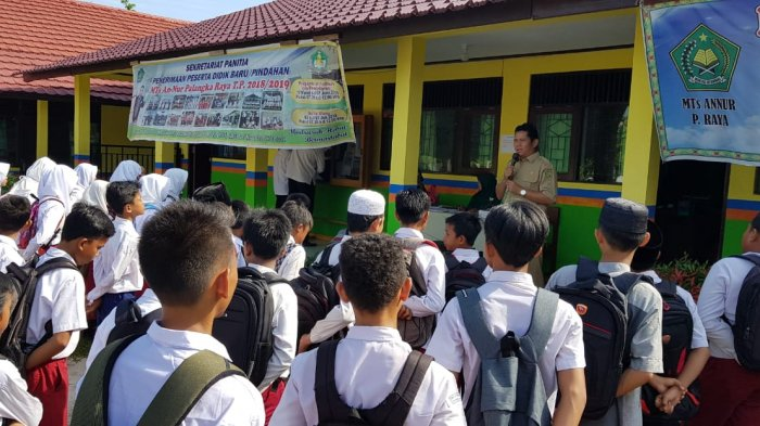 Siswa Baru MTs Annur Ikuti Taaruf Madrasah, Pendaftaran Masuk Masih Dibuka!
