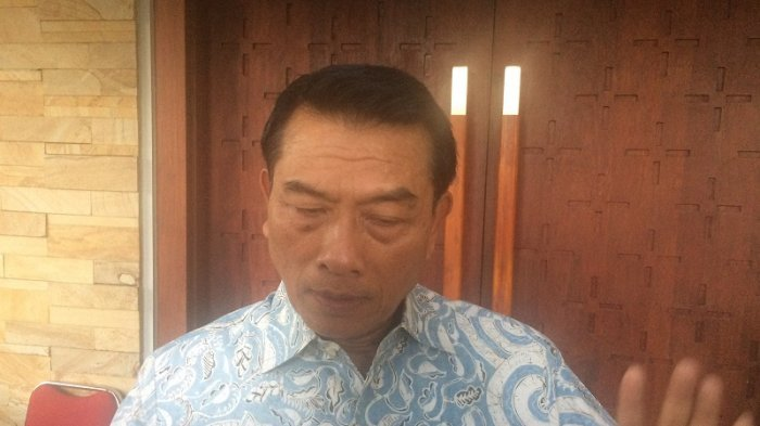 Ketua Himpunan Kelompok Tani Indonesia (HKTI) Jenderal Purnawirawan TNI Moeldoko.