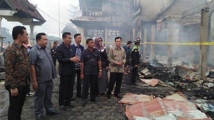 Hari Ini Dibahas, Ini Alternaftif Relokasi Korban Kebakaran Pasar Pendopo Muarateweh
