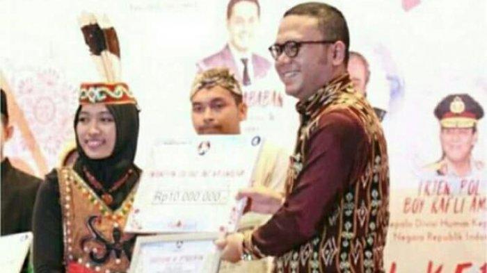 Kopi dan Teh Masisin Mahasiswi IAIN Palangkaraya Jadi Proyek Terbaik ICN Conference 2017