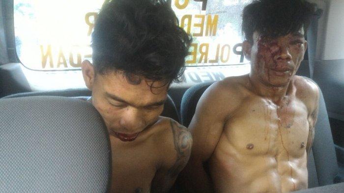 Kepergok Mencuri, Dua Pria Ini Nyaris Dibakar Warga