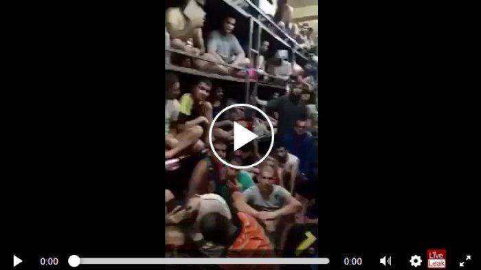 VIDEO: Penjara di Irak, Satu Ruangan Dihuni Ratusan Orang