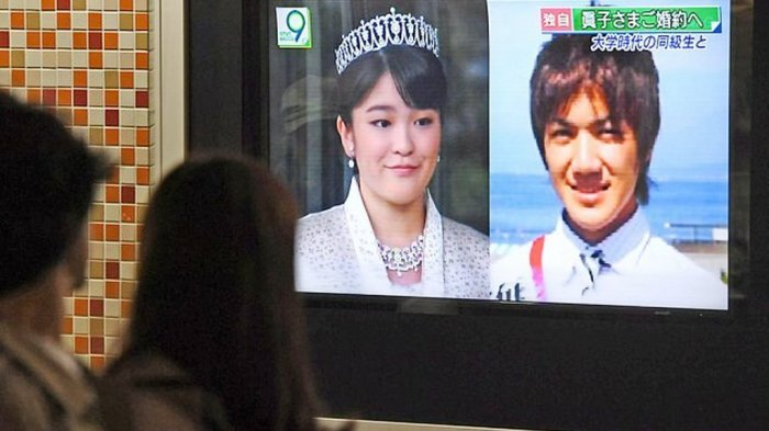 Putri Kaisar Jepang Lepas Tahta Demi Nikahi Pria Biasa