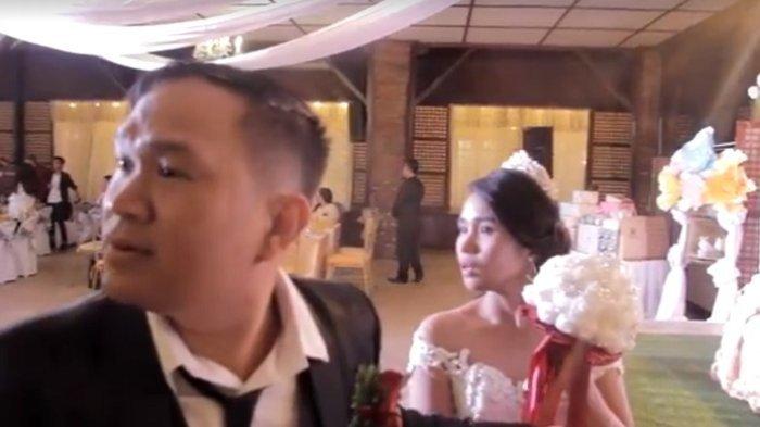 Pesta Pernikahan Meriah Berubah jadi Kepanikan, Videonya Viral
