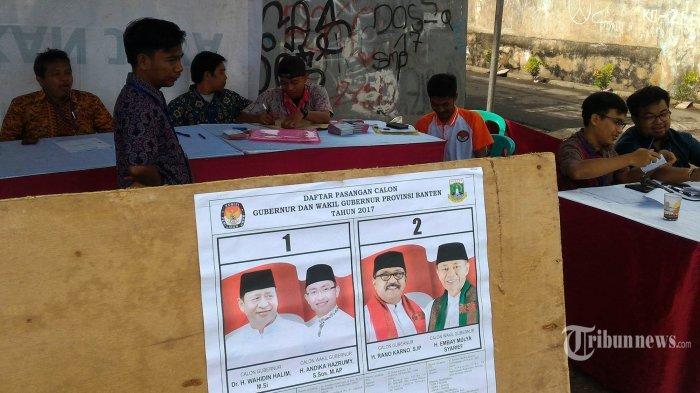 Versi Quick Count, Wahidin Halim dan Rano Karno Hanya Terpaut 0,5 Persen