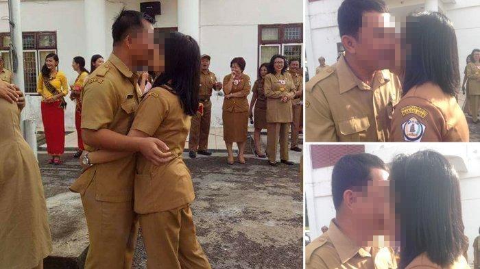 Foto PNS Berciuman Massal Beredar, Ini Tanggapan Netizen