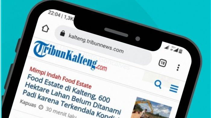 Selamat Launching TribunKalteng.com dari Kabag Protokol dan Komunikasi Pimpinan Setda Palangkaraya