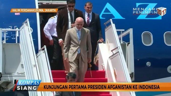 Presiden Afganistan dan Jokowi Teken 5 Kesepakatan