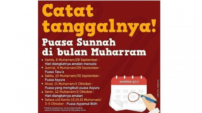 12 Amalan Sunnah Menyambut Tahun Baru Islam 1 Muharram 1440 Hijriyah