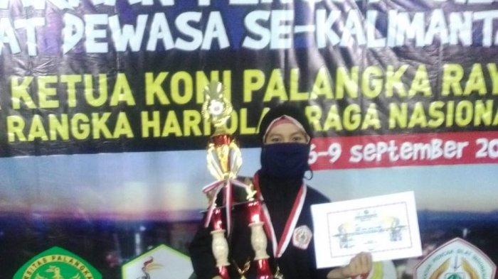 Mahasiswi IAIN Palangkaraya Juara I Pencak Silat se-Kalimantan