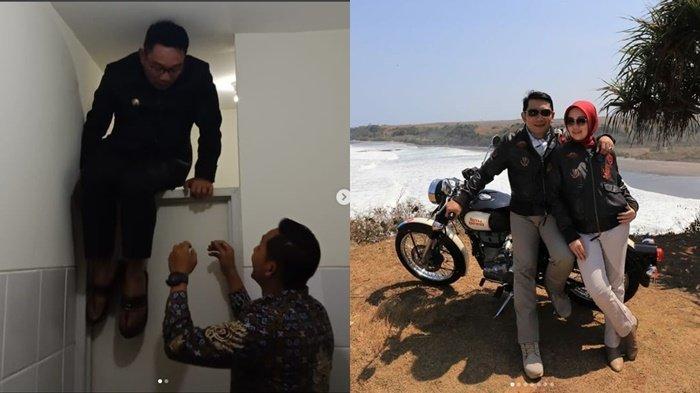 VIDEO: Ridwan Kamil Terkunci di Kamar Mandi, Begini Gubernur Jawa Barat Panjat Pintu Kamar Mandi