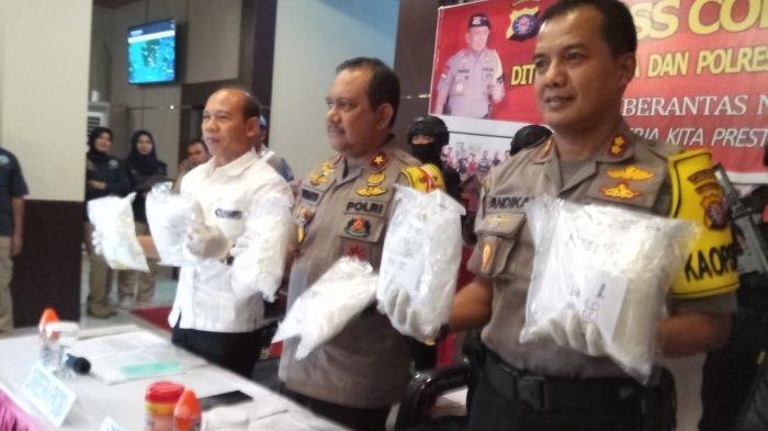 Masuk Lewat Kalteng, 7 Kg Sabu dari Malaysia Gagal Dibawa ke Kalsel