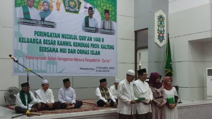 Peringati Nuzulul Quran, Kanwil Kemenag Kalteng Kumpulkan Tokoh Ormas Islam