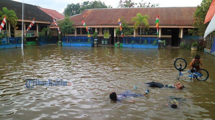 Disdik Kalsel: Perbaikan Kerusakan Ringan Sekolah Terdampak Banjir Dari Dana BOS