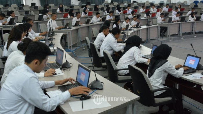 Teknis Lengkap Ujian Tes SKB CPNS 2018, Peserta Dibagi 2 Kelompok