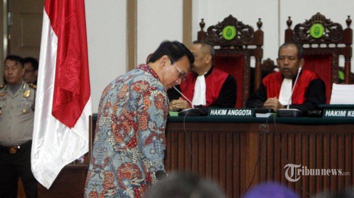 Setelah Tuntutan, Status Ahok Sebagai Gubernur Diputuskan