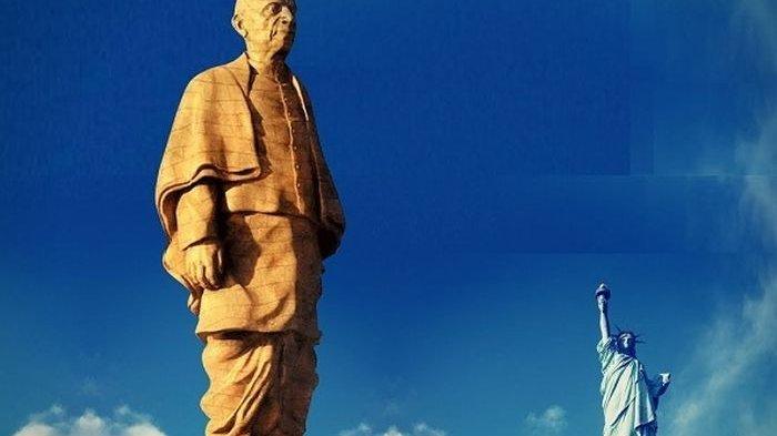 Inilah Patung Tertinggi di Dunia, Statue of Unity di India Dua Kali Lebih Tinggi dari Liberty