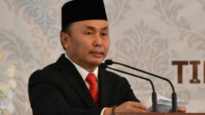 Gubernur Sugianto Menangis Saat Sambutan Penyerahan DIPA, Ini Penyebabnya