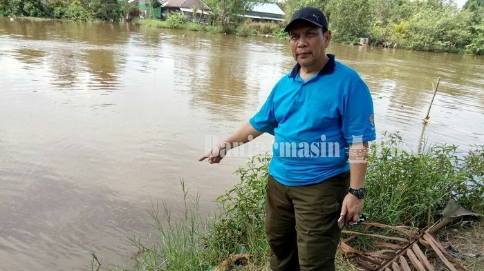 Buaya Gigit Kaki Bocah SD, Warga Takut Mandi di Anjir Muara Batola