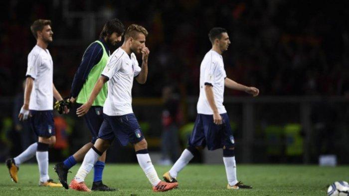 Ditahan Imbang Makedonia, Timnas Italia Makin Sulit Untuk Lolos ke Final Piala Dunia