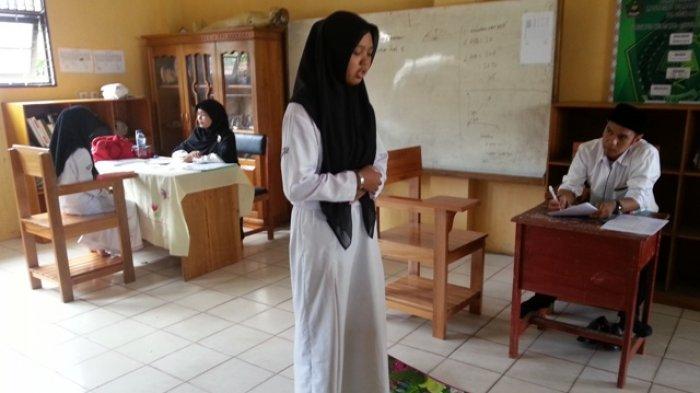 Sebelum Lulus, Siswa MTs Annur Wajib Mampu Praktik Pengamalan Ibadah