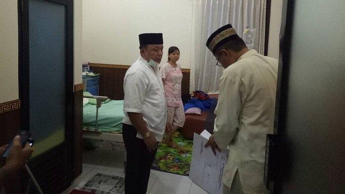 Wakapolda Kalsel Jenguk Polisi Korban Penembakan Bandar Narkoba Gunungmas
