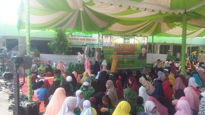 Hari Santri Nasional di Palangkaraya, Jamaah Gelar Tahlil Bagi Para Ulama