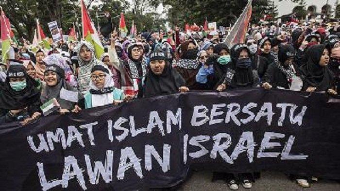 Ikut Aksi Bela Palestina di Monas, Warga Brunei Merasakan 'Aura' Ini di Jakarta