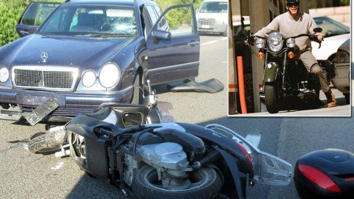 Bukan Adegan Film! Aktor Ini Terlempar dari Motor yang Dikendarai, Begini Kondisinya