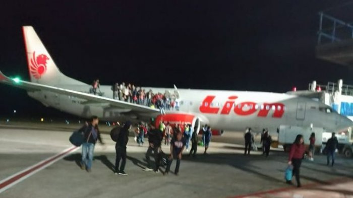 Gangguan Teknis Bikin Pesawat Lion Air di Semarang Batal Terbang, Penumpang  Diturunkan