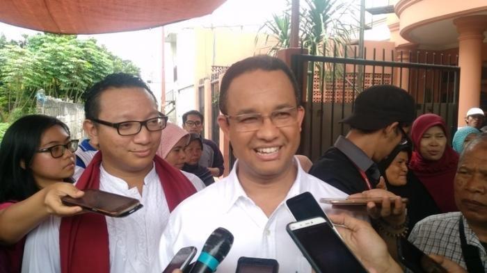 Reaksi Gubernur Anies Baswedan Ditanya Bantuan Pemprov DKI Rp 70 Juta untuk Ratna Sarumpaet