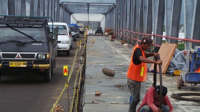 Antrean Kendaraan di Jembatan Pulau Telo Padat di Akhir Pekan, Sampai Kapan Ini Berlangsung?