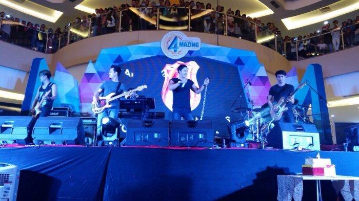 Malam Tahun Baru di Kapuas, Ada Band Repvblik