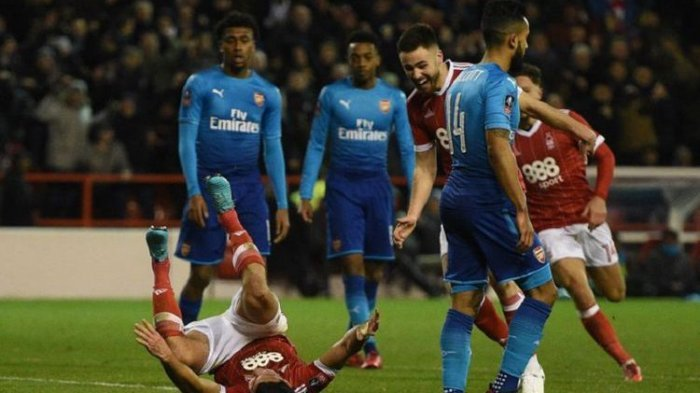 Arsenal Tersingkir di Piala FA Setelah Dikalahkan Nottingham Forerst