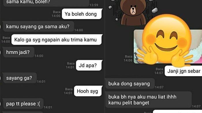 Cowok Minta Dikirimin Foto Dada Setelah 3 Hari Pacaran, Chat Sejoli Ini Bikin Ngakak