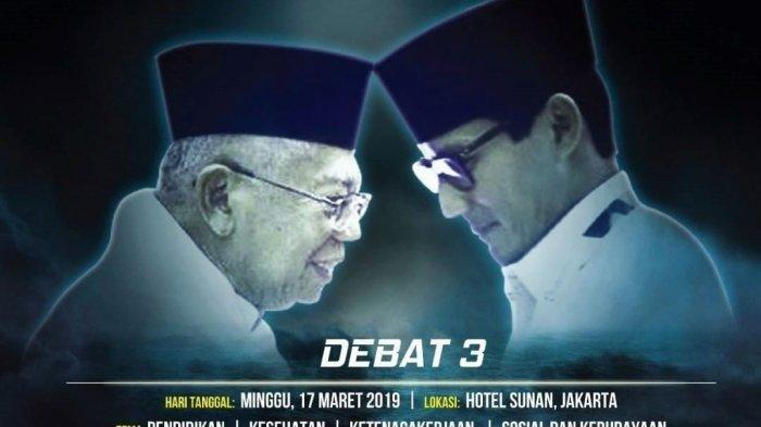 Debat Ketiga Cawapres Pilpres 2019, Cek Fakta Pernyataan KH Maruf & Sandiaga Soal BPJS Kesehatan
