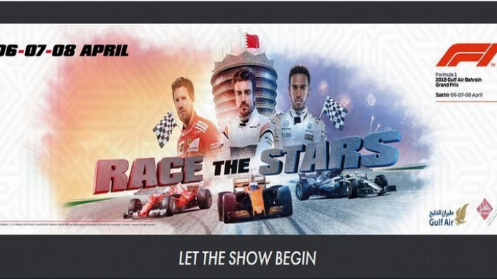 Ini Jadwal Lengkap F1 GP Bahrain, Persaingan antara Lewis Hamilton dan Sebastian Vettel