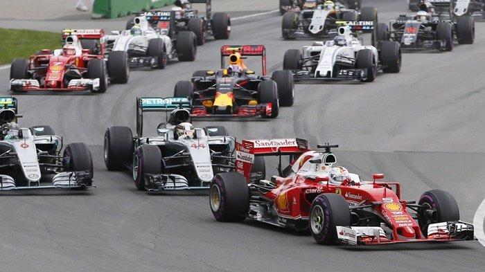 Sebastian Vettel Start Terdepan, Ini Jadwal Siaran Langsung F1 GP Kanada 2018