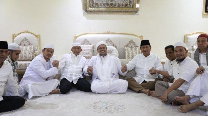 PSI Nyinyir Soal Amien & Prabowo Bertemu Rizieq di Mekkah, Partai Gerindra Balik Tanya Ini